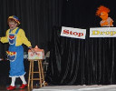 "Rainbow and a puppet teach ""stop, drop, roll"""